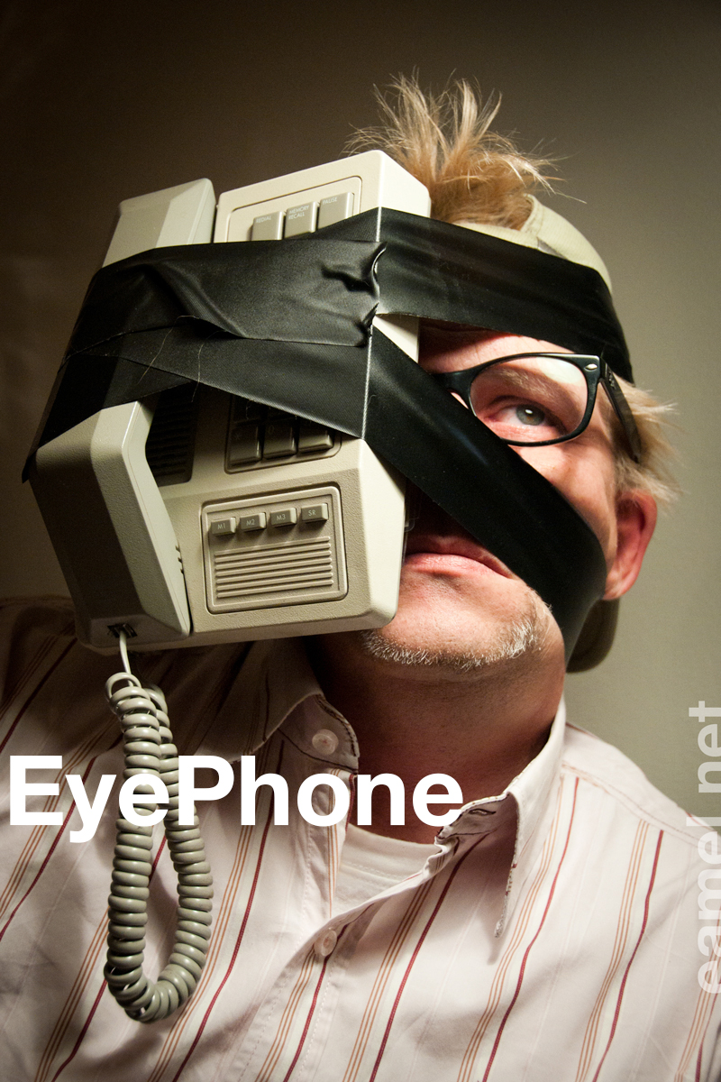 eyephone 800 - Blij met m'n EyePhone