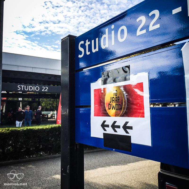 Studio 22, Matthijs. Niet 21. Slordigert dat je daar bent.